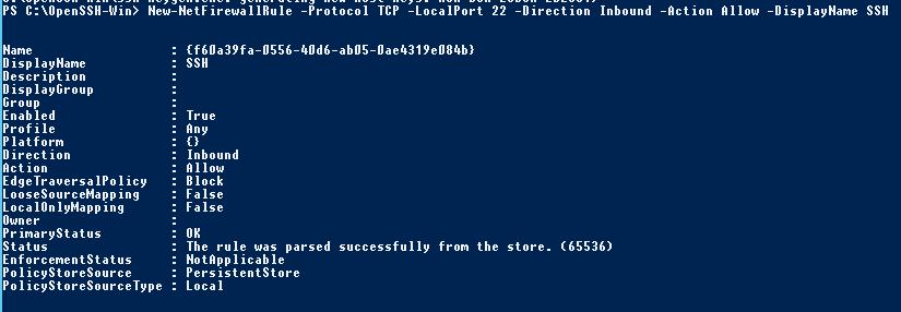 Installing SFTP (SSH FTP) Server on Windows Server 2012 R2 | Windows
