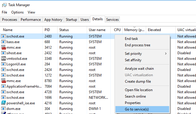 dwm.exe high cpu windows server 2012
