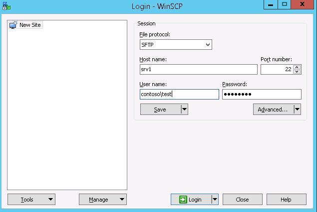 Installing SFTP (SSH FTP) Server on Windows Server 2012 R2 | Windows