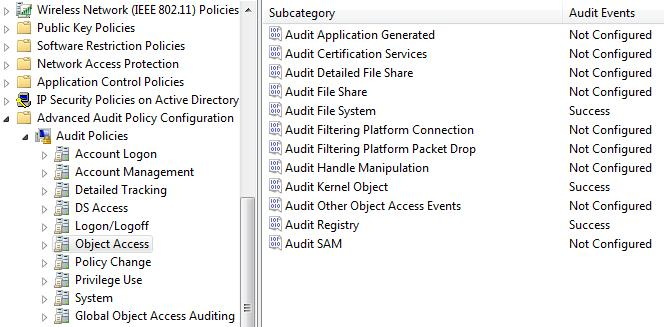 GPO - Audit File System