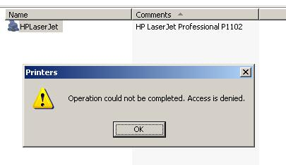 windows 7 admin share access denied