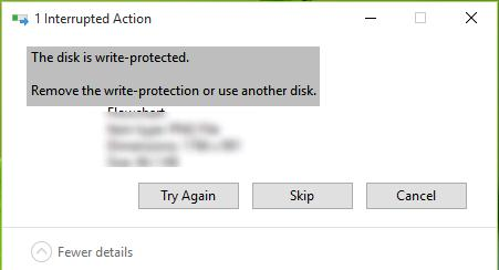 Fix Disk Is Write Protected Error in Windows 10 | Windows OS Hub