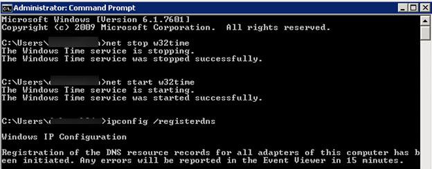 Remote Desktop Connection Error: Outdated entry in the DNS