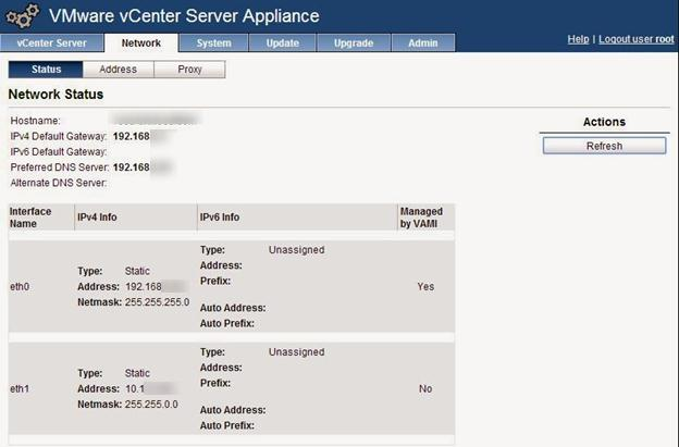 vcsa additional ip address