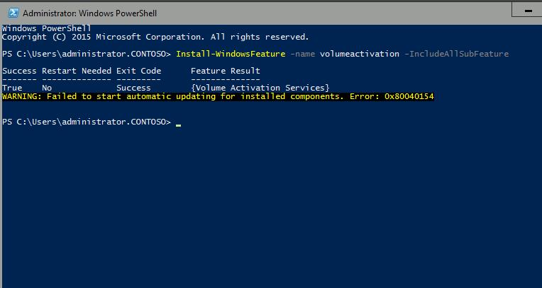 activation key windows server 2016