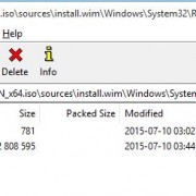 extracting file winre.wim from windows distribution