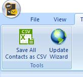save all contacts to csv