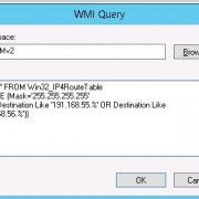 wmi query Win32_IP4RouteTable