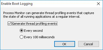 Generate thread profiling events