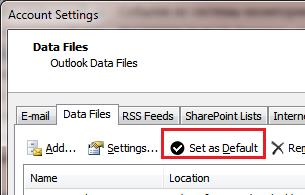 set default pst