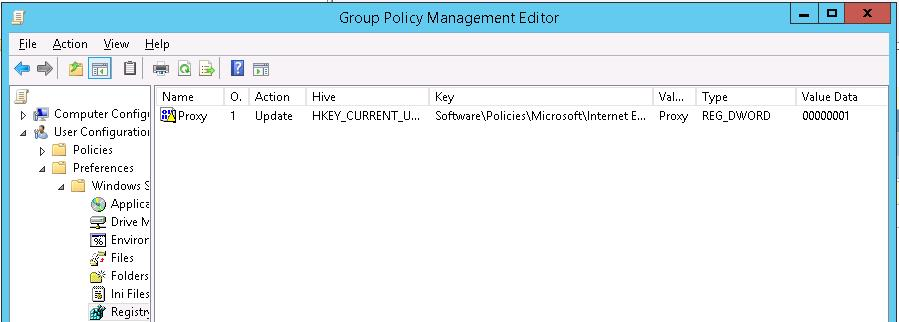 Prevent changing proxy settings via registry GPP