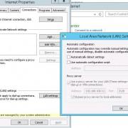 lockdown proxy dialog box