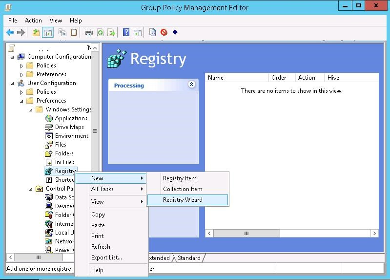 gpp registry wizard