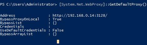 System.Net.WebProxy GetDefaultProxy powershell