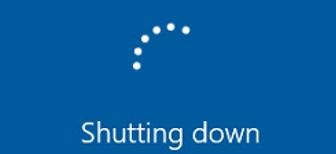 correctly- shutting down windows