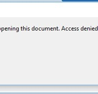 There was an error opening this document. Access denied