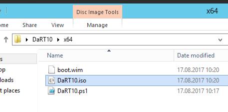 How to Create the DaRT 10 Recovery Image | Windows OS Hub