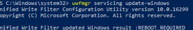 uwfmgr servicing update-windows