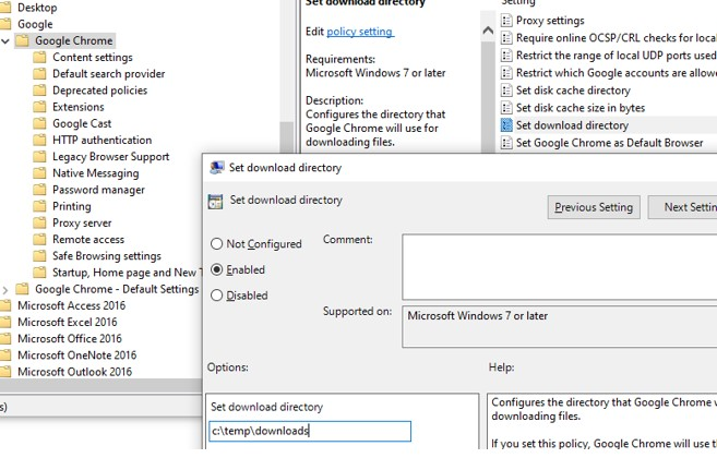 How to Configure Google Chrome Using Group Policy ADMX