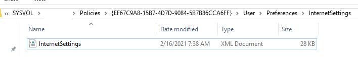 InternetSettings.xml config file in gpo