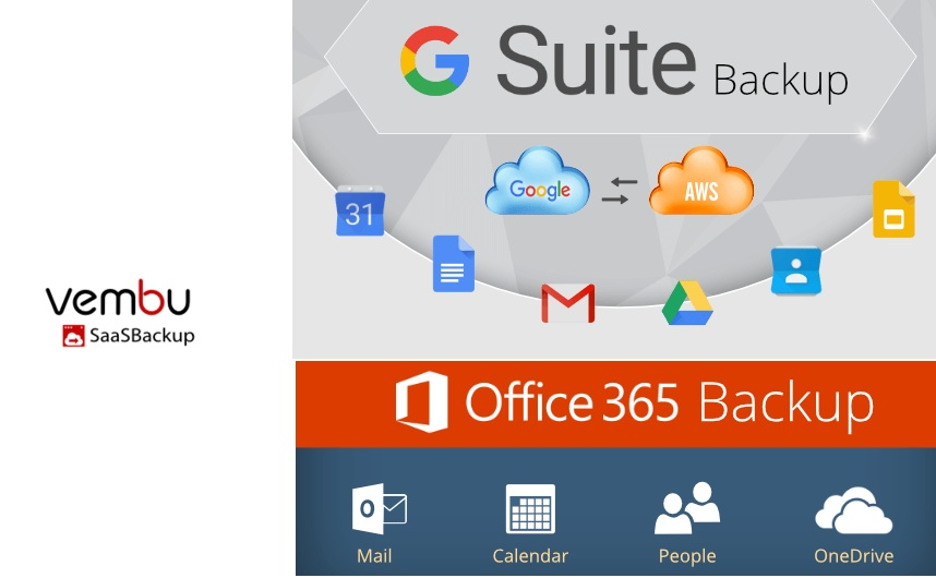 vembu saas backup for g suite / office 365