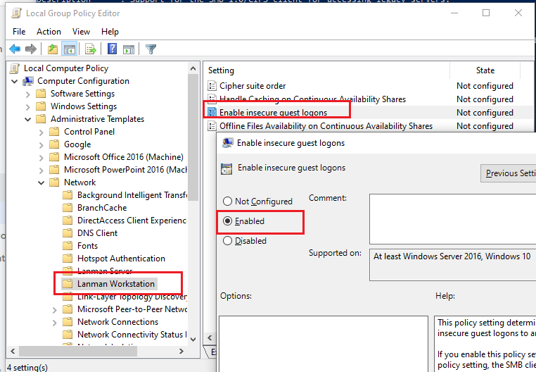 Can T Access Map Network Shared Folders Over Smb From Windows 10 Windows Os Hub