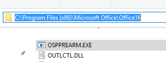 ospprearm.exe - tool to extend office trial