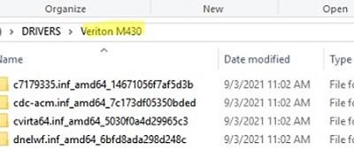 use shared backup driver folder for each computer model