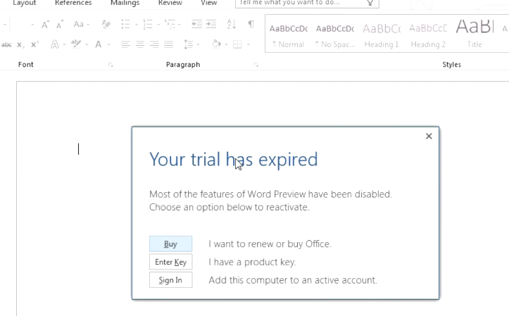 How to Extend Office 2016 / Office 365 Trial to 180 Days | Windows
