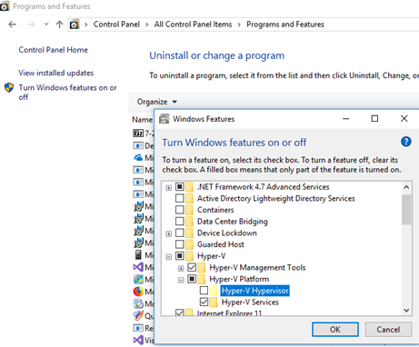 Hyper-V cannot be installed: The processor does not have the required virtualization capabilities