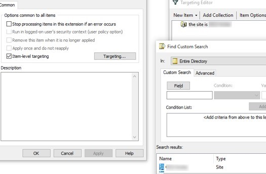 gpo: set time zone according active directory site