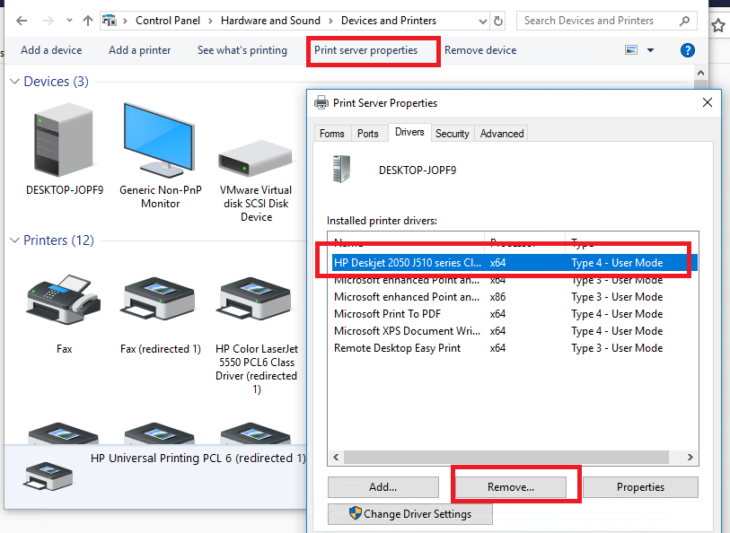 Installing an Incompatible Printer Drivers on Windows 10 | Windows