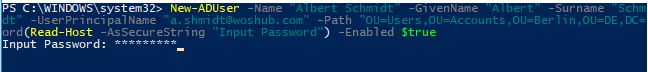 New-ADUser How to Create New Active Directory Users with PowerShell