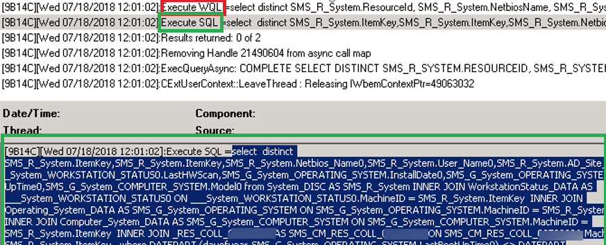 Converting SCCM WQL Query to SQL | Windows OS Hub