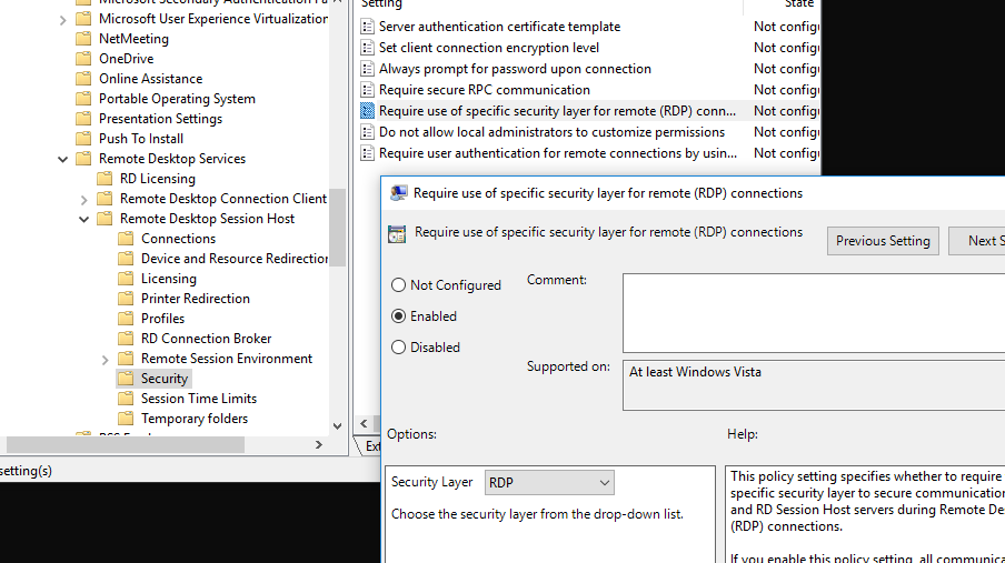 Remote Desktop Cannot Verify the Identity of Remote Computer