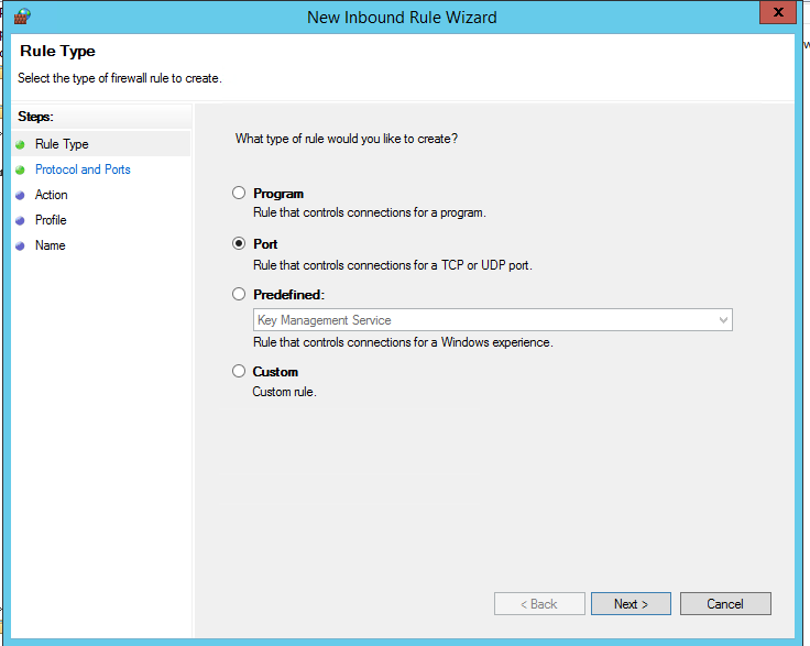 Configuring Windows Firewall Settings and Rules with Group