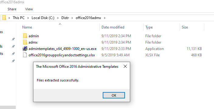 Managing Microsoft Office Settings with GPO Administrative