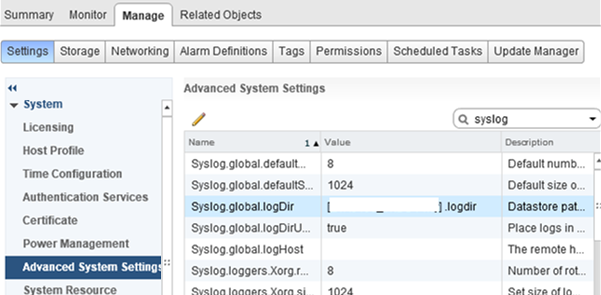 ScratchConfig.CurrentScratchLocation and Syslog.global.logDir