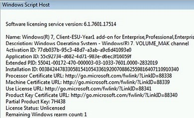 to Windows (R) 7, Client-ESU-Year1 add-on for Enterprise, Professional.