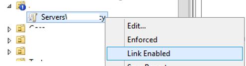 gpo - enable link