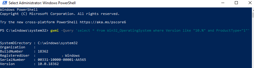 gwmi - test wmi filters with powershell