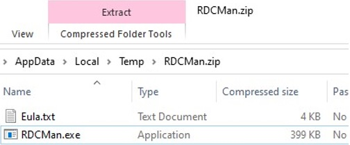extracting rdcman.exe