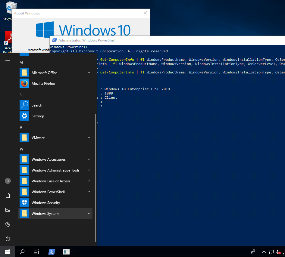 1809 Menu faq: windows 10 enterprise ltsc 2019 explained | windows os hub