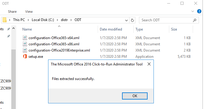 Microsoft Office Deployment Tool – ODT configuration-Office2019Enterprise.xml
