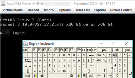 use on-screen keyboard on Java iKVM Viewer IPMI