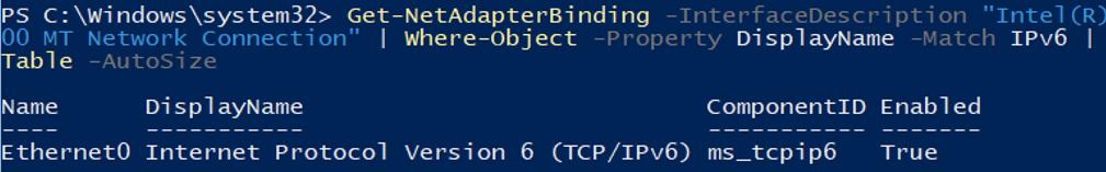 hyper-v set ipv6 settings powershell