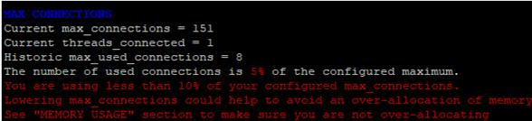 mariadb tuning bash script