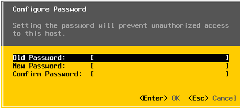change root password