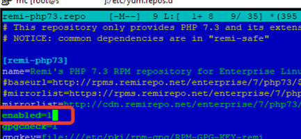 configuring repo file in centos