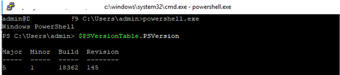 run powershell in windows ssh
